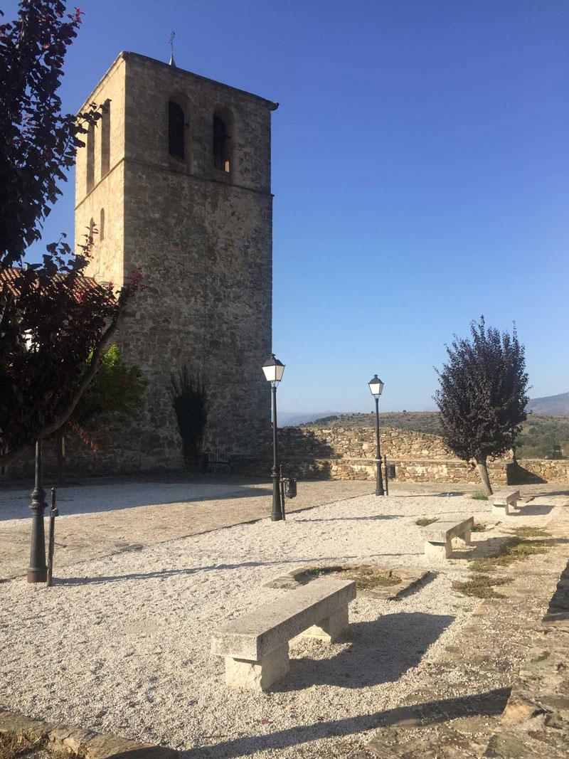 Iglesia de San Vicente Mártir en Braojos de la Sierra